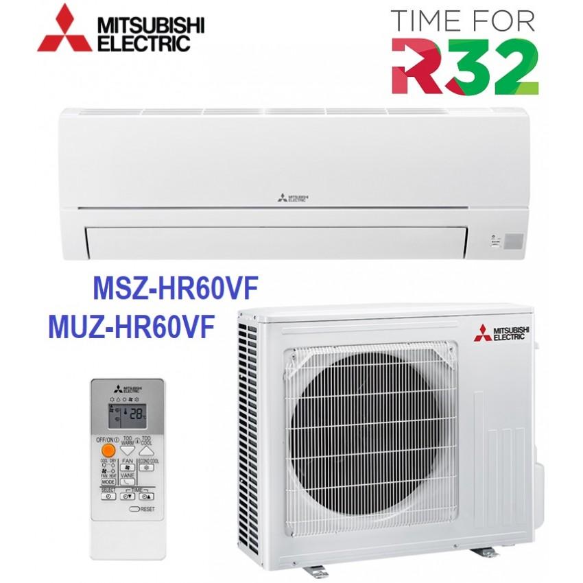 НОВ МОДЕЛ 2020 ХЛАДИЛЕН АГЕНТ R32 КЛИМАТИК ИНВЕРТОР MITSUBISHI MSZ-HR60VF / MUZ-HR60VF