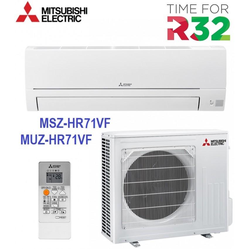 НОВ МОДЕЛ 2020 ХЛАДИЛЕН АГЕНТ R32 КЛИМАТИК ИНВЕРТОР MITSUBISHI MSZ-HR71VF / MUZ-HR71VF
