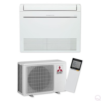 Климатик Инвертор ПОДОВ Тип Mitsubishi Electric MFZ-KJ25VE / MUFZ-KJ25VE - ПОДОВ