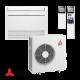 Климатик Инвертор ПОДОВ Тип Mitsubishi Electric MFZ-KJ50VE / MUFZ-KJ50VE - ПОДОВ