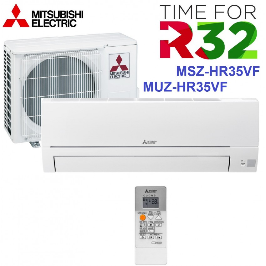 NEW MODEL 2019 Refrigerant R32 Air Conditioning INVERTER Mitsubishi Electric MSZ-HR35VF / MUZ-HR35VF