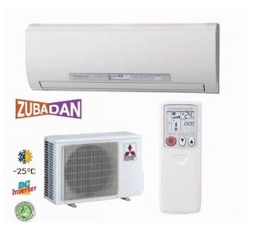 Mitsubishi <font color=violet>ZUBADAN</font> MSZ-FD50 VA / MUZ-FD50 VABH - <font color=violet>The guaranteed heating operation range of the heating mode has been extended to  - 25°С </font><LI><font color=red>COP - 3.73 / EER - 3.31</font><LI>